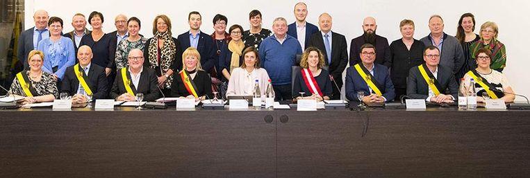 De gemeenteraad van Zedelgem.