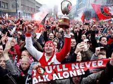 Duizenden Feyenoordfans tekenen petitie voor huldiging op zondag