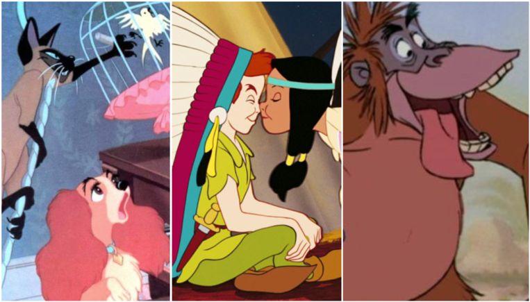Disney erkent: al deze films bevatten racistische elementen.