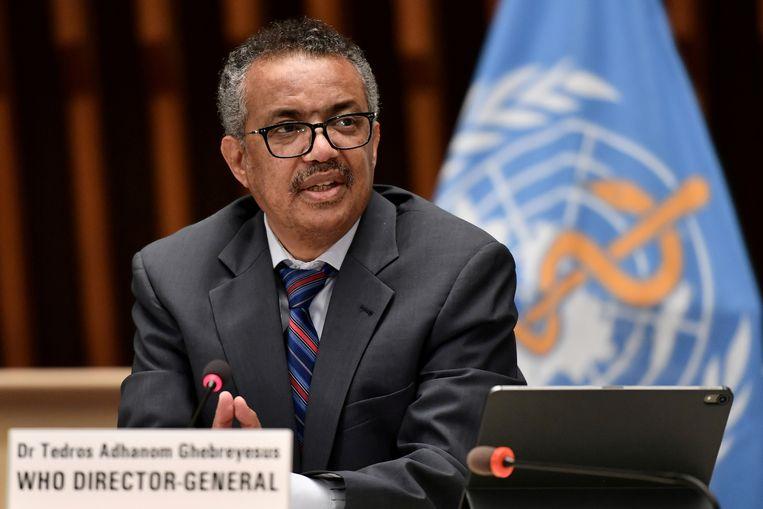 Tedros Adhanom Ghebreyesus. Beeld Reuters