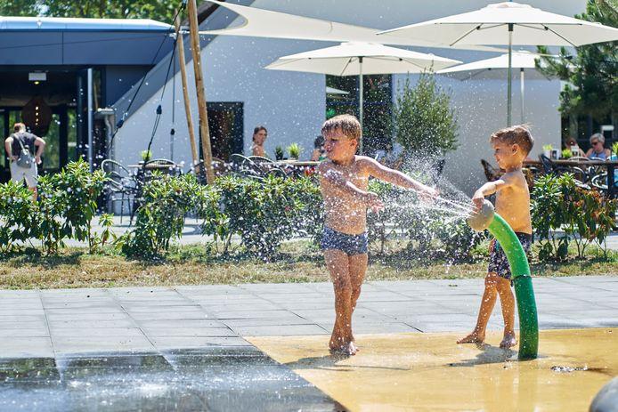'Watersplash' bij het Roompotpark in Schaijk.