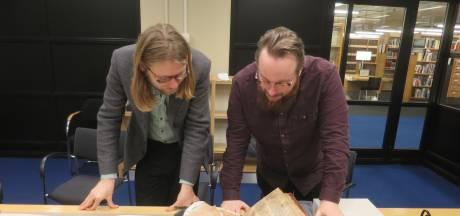 Onderzoekers Regionaal Archief Tilburg ontdekken fragment uit historische Spiegel Historiael