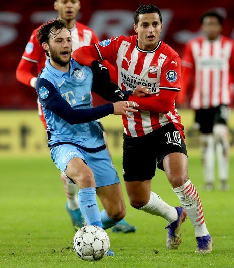 PSV rukt met pijn en moeite op naar plek twee, dankzij juweeltje Ihattaren