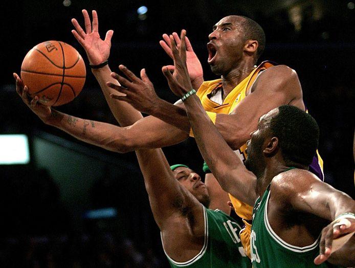 2007: Kobe Bryantin actie.