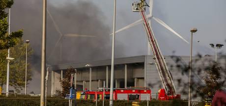 Grote brand bij afvalverwerker in Amsterdam