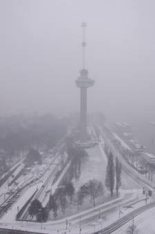 Sneeuwbuien toveren regio om tot winterwonderland