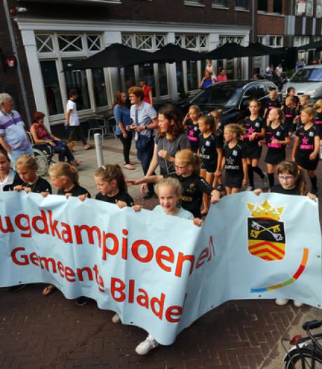 Bladels sportfeest met jeugdkampioenen