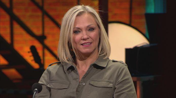 Laura Lynn vertelt over haar angsten in de Eén-talkshow 'Vandaag'.