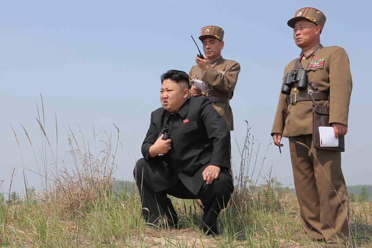 De Noord-Koreaanse leider Kim Jong-un (archiefbeeld).
