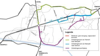 Hamonterweg terug opengesteld voor verkeer