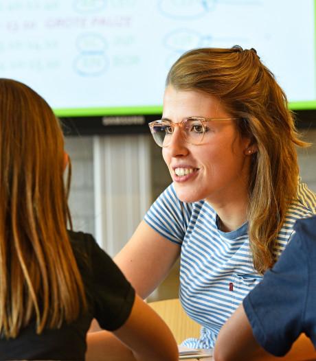 Maaslandcollege en basisschool Hertogin Johanna V in Oss omarmen elkaar: 'Drempel tussen basis- en voortgezet onderwijs slechten'