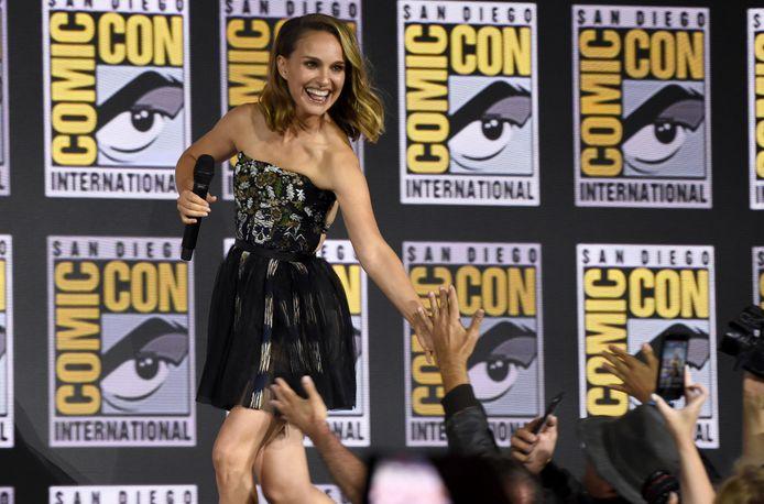 Natalie Portman au Comic-Con de San Diego, en juillet 2019