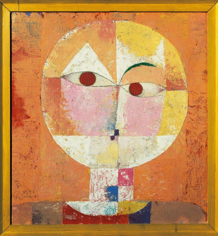Paul Klee, Senecio, 1922. Beeld Getty