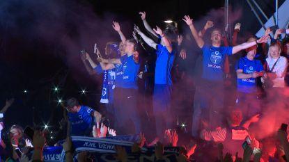 Genkse helden feestelijk onthaald op Stadsplein