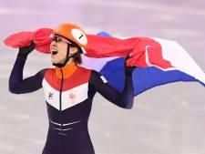Suzanne Schulting stunt met historisch goud op 1000 meter