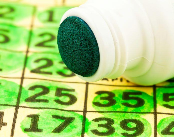 Bingo ter illustratie