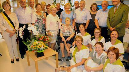 Louisa Swaelens viert 100ste verjaardag