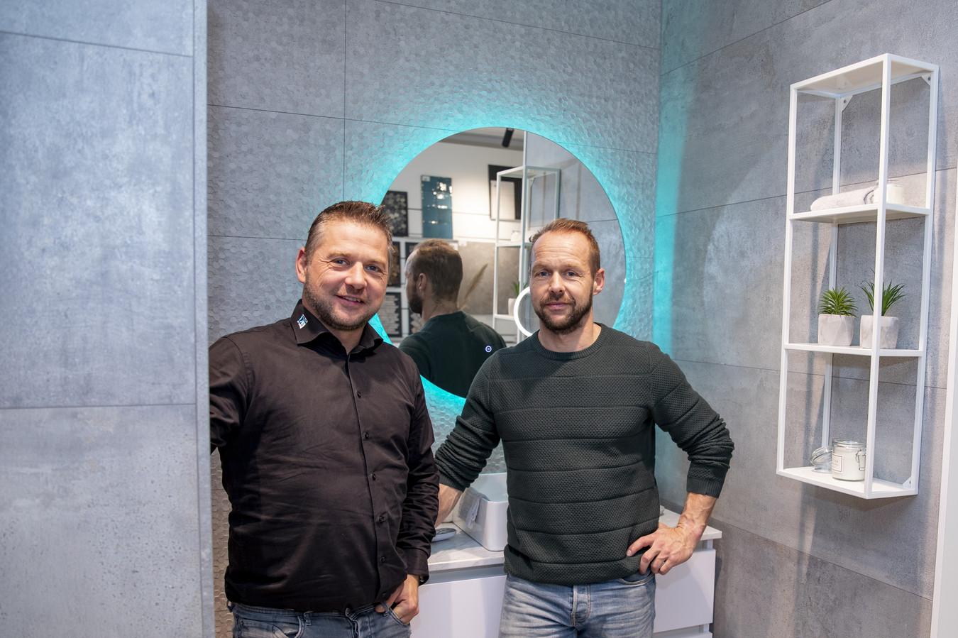 Gerben (links) en Marc Dannenberg