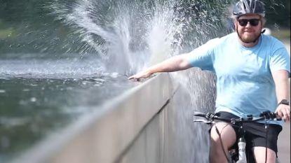 VIDEO: Fietsen door het Water gaat de wereld rond
