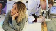 Silvy De Bie laat haar 'tramp stamp' verwijderen