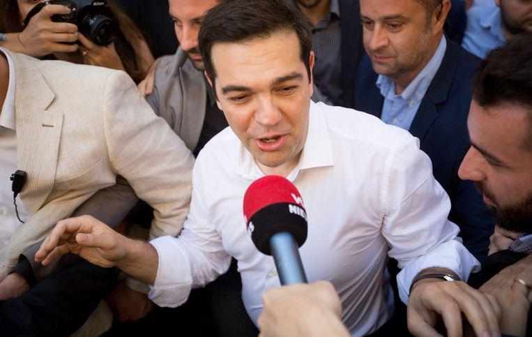 Premier Tsipras Beeld epa