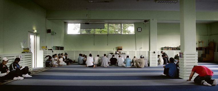 De As Soennah-moskee in Den Haag. Beeld Guus Dubbelman / de Volkskrant