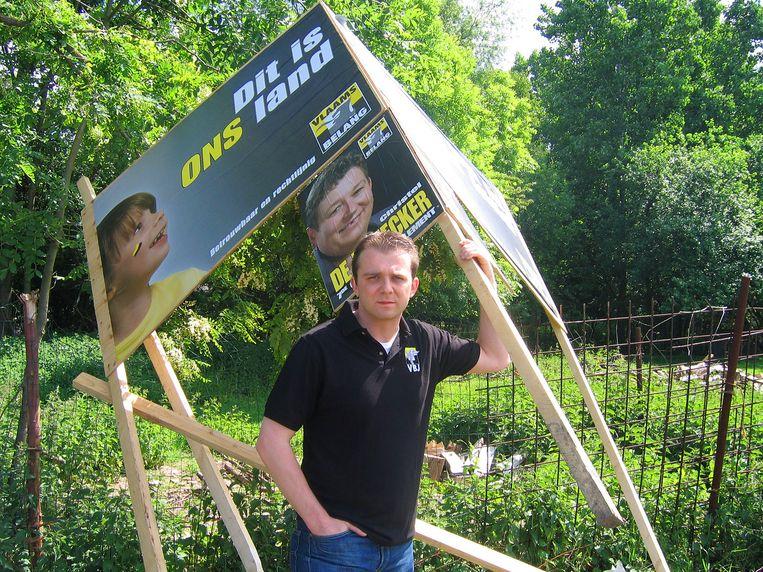 Kristof Slagmulder is fractieleider bij Vlaams Belang.