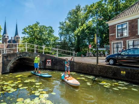 Spelevaren in Delftse grachten is steeds meer in trek