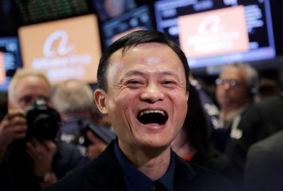 Ma introduceert zijn bedrijf op Wall Street. De grootste beursintroductie ooit.