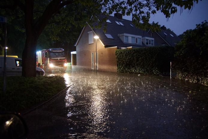 Wateroverlast in Sprang-Capelle