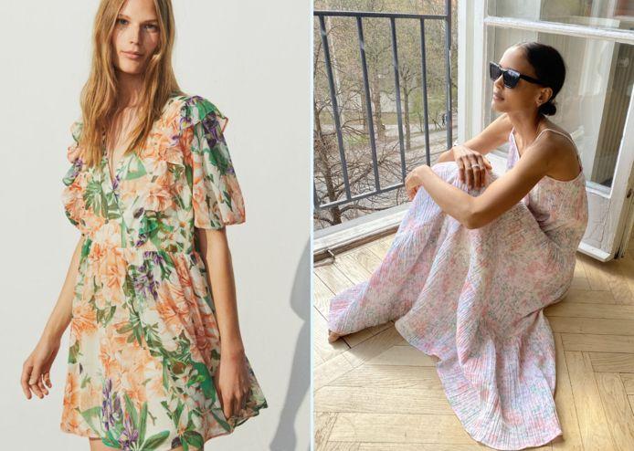 Notre sélection de robes fleuries qui sentent bon l'été.