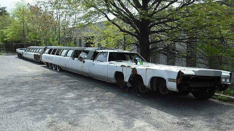 Zo zag de auto eruit voordat begonnen werd met de restauratie.