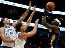 Round-up NBA: Cavs en Warriors winnen, scorefestijn bij Lakers