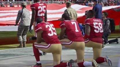 Knielen bij het Amerikaanse volkslied? Daar staan voortaan boetes op voor NFL-spelers