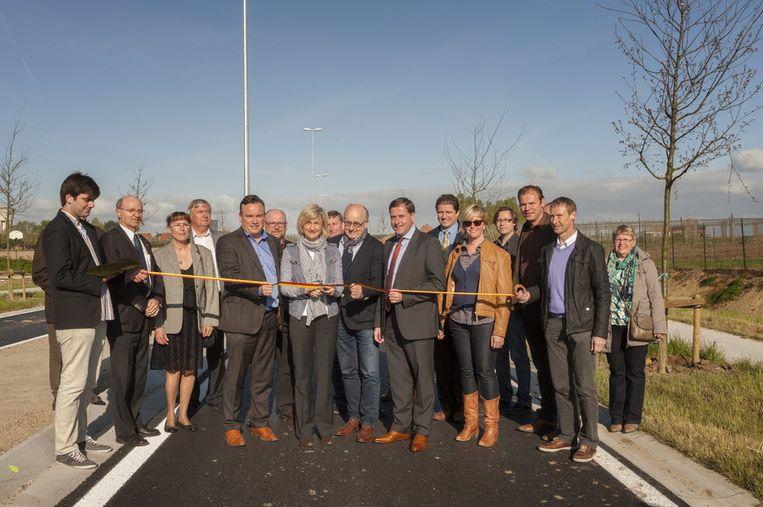 De Noordlaan werd officieel geopend door minister Hilde Crevits.