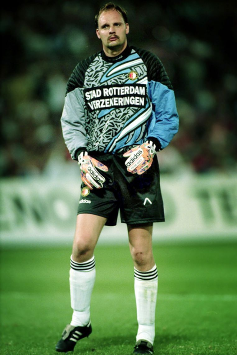 Keeper Ed de Goey tijdens de Supercup Ajax - Feyenoord 2-1.    Beeld Stanley Gontha