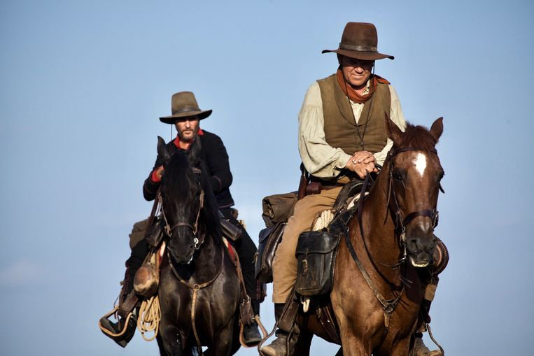 John C. Reilly en Joaquin Phoenix in The Sisters Brothers (Jacques Audiard). Beeld
