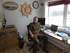 Stratenmaker uit Asten beheert viskamp in het Noorse Sandland, een droombaan