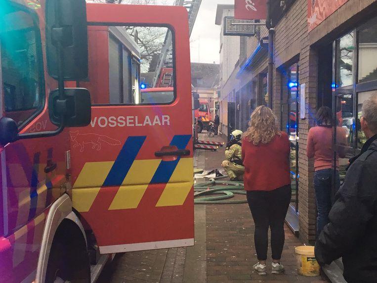 Dankzij een snelle tussenkomst van de korpsen uit Vosselaar en Turnhout kon erger voorkomen worden.