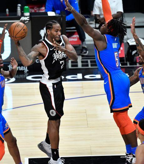 Leonard leidt Clippers naar zevende zege op rij in NBA
