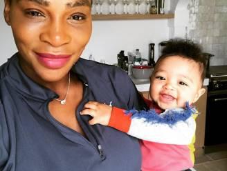 Dochtertje Serena Williams wordt deze week 1 jaar, maar krijgt geen feestje