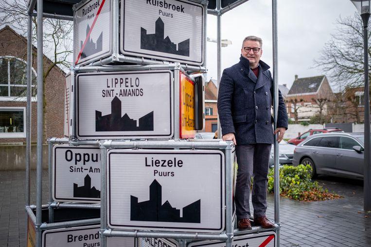 Burgemeester van de nieuwe fusiegemeente Puurs-Sint-Amands Koen Van den Heuvel.