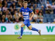 PEC Zwolle legt talent Jarno Westerman tot 2022 vast