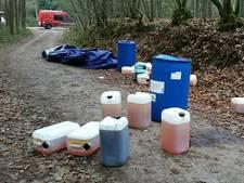 Vaker drugsafval gedumpt, vooral in zuiden