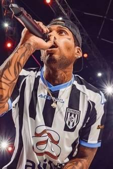 Wereldberoemde Amerikaanse rapper treedt op met Heracles-shirt