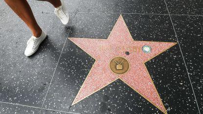 Ster van Bill Cosby op Hollywood Boulevard blijft