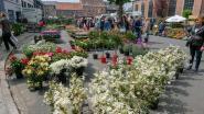 Overal bloemen op dag van de arbeid