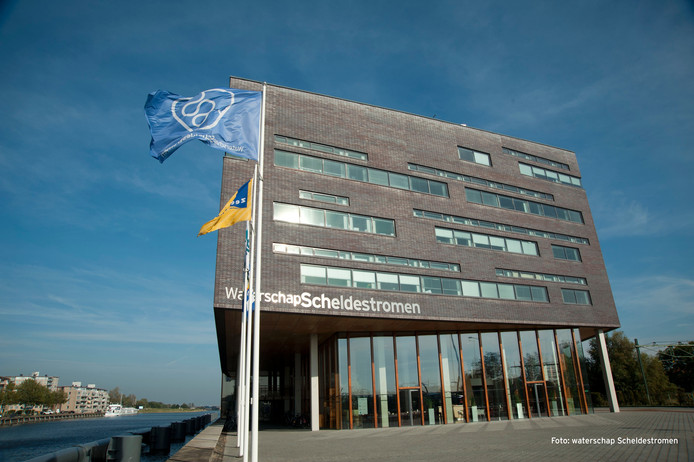 Kantoor van het waterschap in Middelburg.