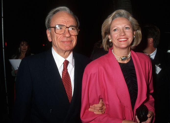 Rupert Murdoch et son ex-femme, Anna.