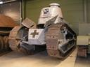 De Renault FT17. Het museum in Overloon bezit één van de twee exemplaren die er in Nederland zijn. Foto van Liberty Park